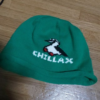 チャムス(CHUMS)の美品☆☆CHUMS☆サマー☆ビーニー☆🟢(ニット帽/ビーニー)