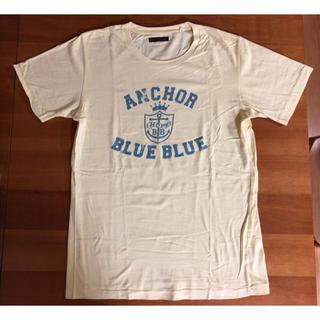 ブルーブルー(BLUE BLUE)の美品★ブルーブルー イエローTシャツ(Tシャツ/カットソー(半袖/袖なし))