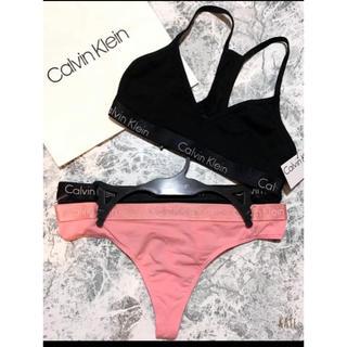Calvin Klein - 【新品未使用】カルバンクライン ブラトップ&Tバックショーツ 上下セット