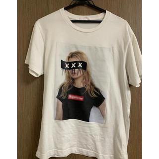 ジィヒステリックトリプルエックス(Thee Hysteric XXX)のGOD SELECTION XXX ケイトモス Tシャツ S 白 ホワイト(Tシャツ/カットソー(半袖/袖なし))