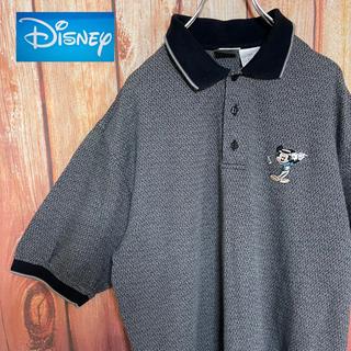 ディズニー(Disney)の激レア!【Disney】ミッキー総柄 ビッグサイズ ポロシャツ★(ポロシャツ)