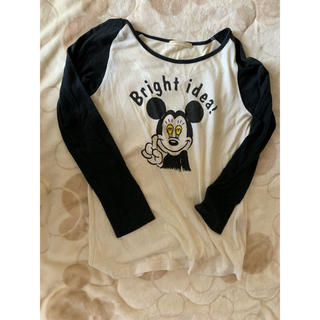 ローリーズファーム(LOWRYS FARM)のミッキーのラグランTシャツ ♡(Tシャツ(長袖/七分))