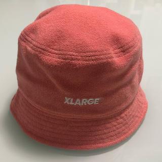 エクストララージ(XLARGE)のXLARGE バケットハット ピンク(ハット)