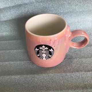 スターバックスコーヒー(Starbucks Coffee)のスターバックス   マグカップ   ピンク(マグカップ)
