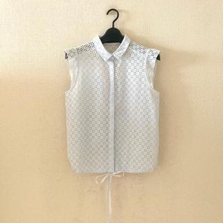 マルティニークルコント(martinique Le Conte)のマルティニーク♡カットレースシャツ(シャツ/ブラウス(半袖/袖なし))