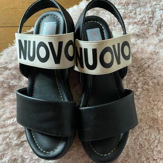 ヌォーボ(Nuovo)のNouvo サンダル 22cm(サンダル)