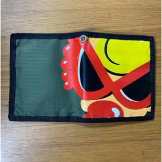 ヒステリックミニ(HYSTERIC MINI)のヒスミニ  財布 二つ折り カーキ 美品 正規品(財布)