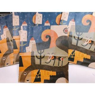 カルディ(KALDI)のカルディショップ袋 5枚(その他)