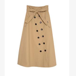 ギャルスター(GALSTAR)のリエディ   コットンツイルトレンチスカート(ロングスカート)