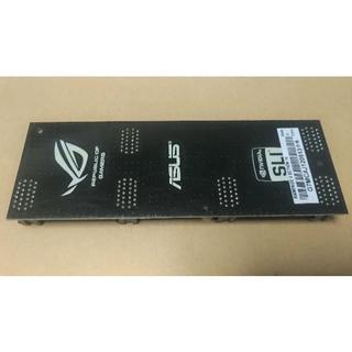 エイスース(ASUS)の新品 ASUS純正品 4-Way SLI ブリッジボード R.O.G. 非売品(PCパーツ)