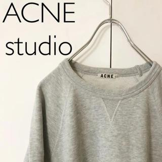 アクネ(ACNE)のACNE STUDIOS COLLEGE/クルーネックスウェット(トレーナー/スウェット)