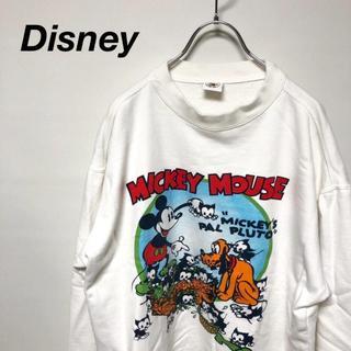 ディズニー(Disney)の90s Mickey&Co. ミッキー プリント スウェット ディズニー(スウェット)