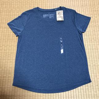 ムジルシリョウヒン(MUJI (無印良品))の新品タグ付き❗️無印良品 吸汗速乾UVカット 半袖Tシャツ Sサイズ(ウェア)