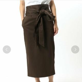 イエナ(IENA)の【IENA LA BOUCLE】SATIN BIGリボンスカート(ロングスカート)