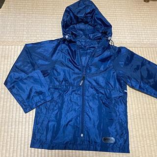 OUTDOOR - outdoorレインコート130cm 紺 合羽カッパ