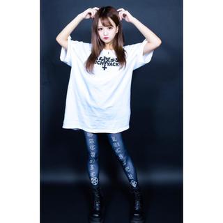 ミルクボーイ(MILKBOY)のKRY TENOHIRA BIG Tシャツ ホワイト新品 KRYCLOTHING(Tシャツ/カットソー(半袖/袖なし))