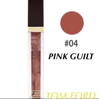 トムフォード(TOM FORD)のトムフォード ウルトラシャインリップグロス 04 ピンクギルト(リップグロス)