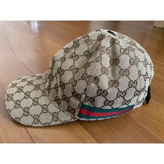 グッチ(Gucci)のGUCCI  キャップ 帽子 美品 M58(キャップ)
