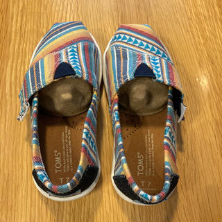 トムズ(TOMS)のTOMS キッズ靴(スリッポン)