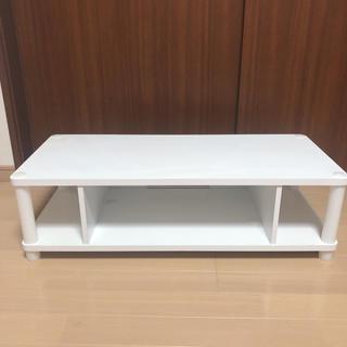 ホワイト テーブルボード(ローテーブル)
