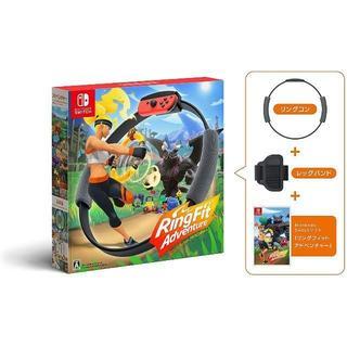 ニンテンドースイッチ(Nintendo Switch)のパッケージ版 リングフィット アドベンチャー 新品(家庭用ゲームソフト)
