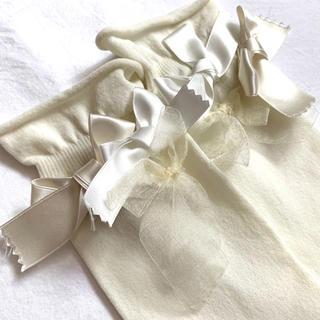 ジェーンマープル(JaneMarple)のJane Marple ジェーンマープル ソックス 靴下 リボン(ソックス)