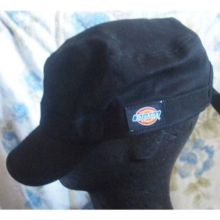 Dickies - Dickies ディッキーズ/シンプルな黒カラーのワークキャップCAP(帽子)