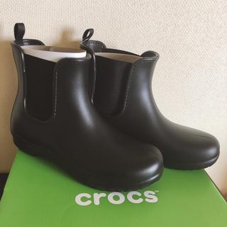 クロックス(crocs)のサイドゴア/レインブーツ(レインブーツ/長靴)