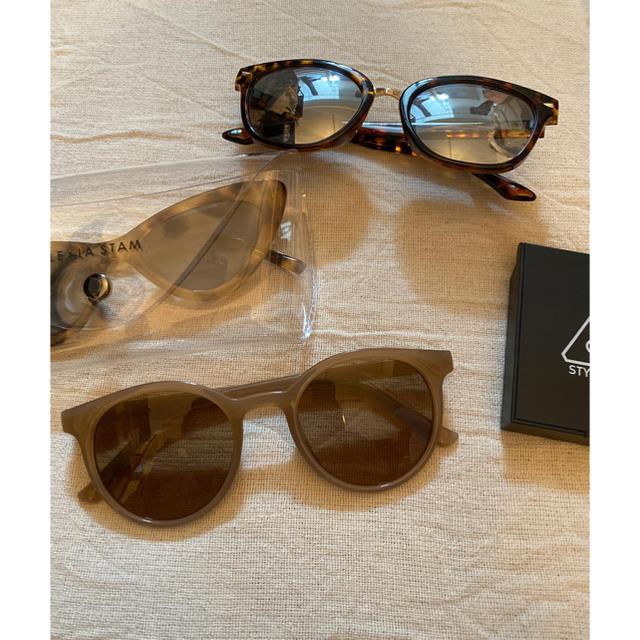ALEXIA STAM(アリシアスタン)のsunglasses🤍新品未使用 レディースのファッション小物(サングラス/メガネ)の商品写真