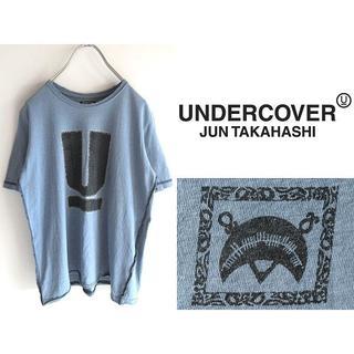 アンダーカバー(UNDERCOVER)の名作 アンダーカバー SCAB期Uロゴ Tシャツ カットソー S 男女着用可(Tシャツ(半袖/袖なし))