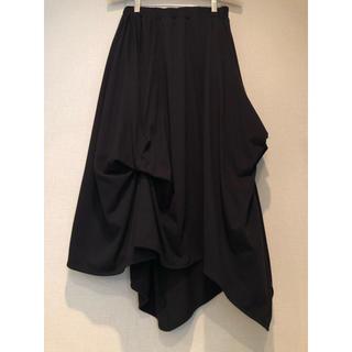 エンフォルド(ENFOLD)のnagonstans ブラック スカート (ロングスカート)