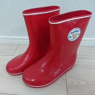 ファミリア(familiar)のファミリア 17.0cm 長靴(長靴/レインシューズ)