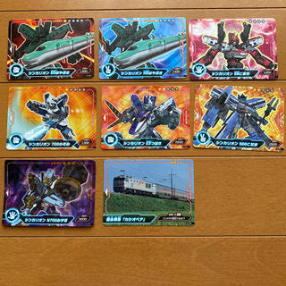 タカラトミーアーツ(T-ARTS)のシンカリオン カード8枚セット(カード)
