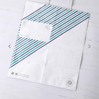 イデアインターナショナル(I.D.E.A international)の新品 未開封 イデア ポストバッグ トートバッグ エコバッグ 軽量 グリーン(エコバッグ)