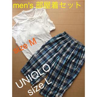 ユニクロ(UNIQLO)のMサイズ 部屋着セット UNIQLO レナウン(その他)