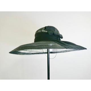 クリスチャンディオール(Christian Dior)の《ご成約》女優帽ハット 大きなつばが麗しい麦わら帽子(麦わら帽子/ストローハット)
