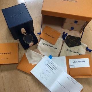 ルイヴィトン(LOUIS VUITTON)のタンブールホライゾン(腕時計(デジタル))