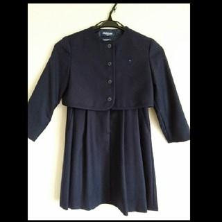 ファミリア(familiar)の【専用】ファミリアアンサンブルスーツ120& good earthハンカチ2枚(ドレス/フォーマル)