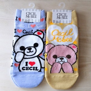 CECIL McBEE - 【新品タグ付き】 CECIL McBEE 靴下 2足