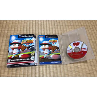 ニンテンドーゲームキューブ(ニンテンドーゲームキューブ)の実況パワフルプロ野球10 ゲームキューブ(家庭用ゲームソフト)