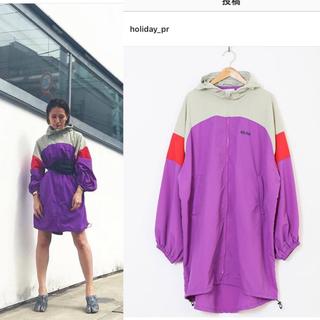 ホリデイ(holiday)のHOLIDAY WIND DRESS ウィンドドレス ¥26,180(ナイロンジャケット)