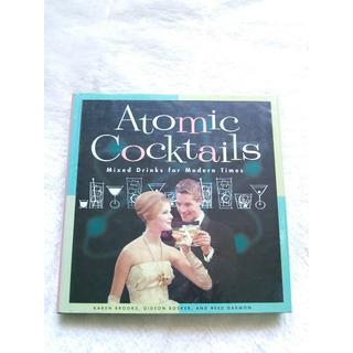 835 Atomic cocktails カクテル レシピ集(趣味/スポーツ/実用)