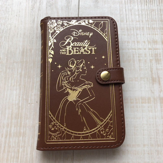 ディズニー(Disney)の全機種対応 手帳型スマホケース 美女と野獣(スマホケース)