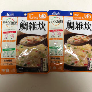 アサヒ(アサヒ)のASAHI 鯛雑炊 2袋 介護食(レトルト食品)