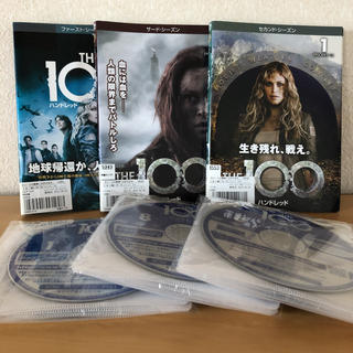 THE 100 ザ ハンドレッド DVD シーズン1.2.3全話(TVドラマ)