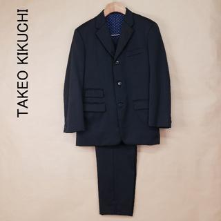 タケオキクチ(TAKEO KIKUCHI)のTAKEO KIKUCHI タケオキクチ 黒 日本製 セットアップスーツ(セットアップ)