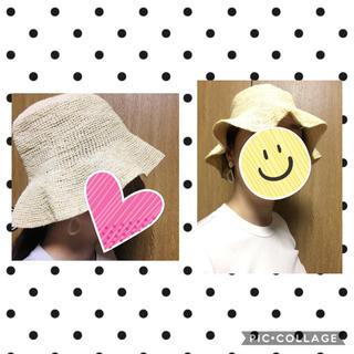 トゥモローランド(TOMORROWLAND)のgenuine panama hat【ストローハット】(麦わら帽子/ストローハット)
