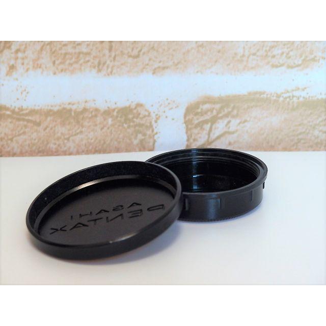 PENTAX(ペンタックス)のPENTAXメタルレンズキャップ&TAKUMAR M42マウントキャップセット  スマホ/家電/カメラのカメラ(その他)の商品写真