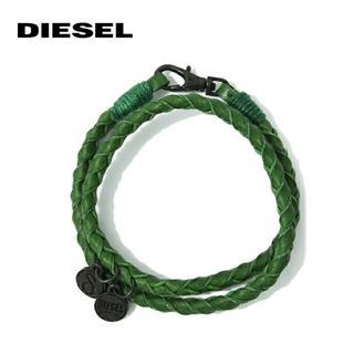 ディーゼル(DIESEL)のDIESEL ディーゼル レザーブレスレット 革ブレス レディース メンズ 新品(ブレスレット)