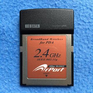 アイオーデータ(IODATA)のアイ・オー・データ CFスロット用無線LANカード WN-G54/CF(PC周辺機器)